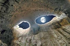The day fire and ice erupted from the sky everything changed –   forever https://kindlescout.amazon.com/p/3T2YLELST9FAR  Eyes of God cave in Bulgaria (source internet)