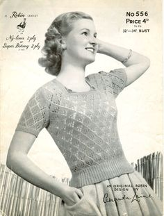 Knitting Patterns Vintage Chronically Vintage: 15 of my must-have vintage fashion essentials (and one of my top tips for creat… Jumper Patterns, Vintage Patterns, Knitting Patterns, Crochet Vintage, Vintage Knitting, Vintage Outfits, Vintage Fashion, Summer Knitting, Fashion Essentials
