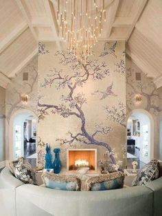 Indoor Fireplace Design Ideas