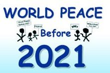 #Free Bumper Sticker - World #Peace Before 2021