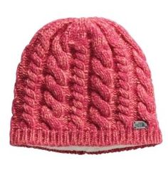 North Face Fuzzy Cable Beanie ($30)