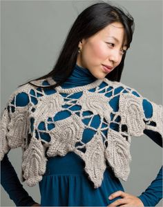 Claudia's Capelet Crochet Pattern