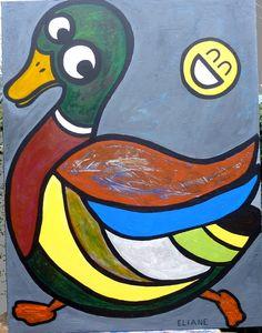 Smiley et son ami Ducky