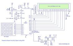 Digital Door Lock using 8051 - Electronic Code Lock using 8051