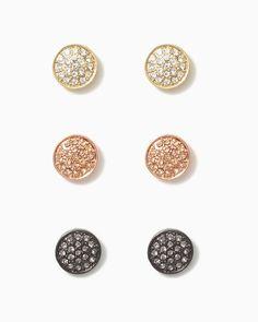 charming charlie | Rococo Disco Earring Set | UPC: 410006173729 #charmingcharlie