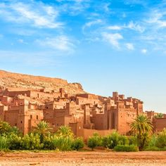 Morocco Tours, holidays In Morocco - 2 days trip from marrakech to ait ben haddou kasbah & oasis fint 2 Days Trip, Desert Tour, Morocco Travel, Solo Travel, Marrakech, Pretty Pictures, Monument Valley, Tours, Adventure