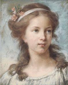 Autoportrait à l'âge de 16ans, 1771 par Élisabeth Vigée Le Brun.