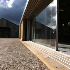 IQ glass installation for an Art Gallery/Workshop on one of our projects in Somerset, UK © O2i Design Limited 2001 - 2012 All rights reserved