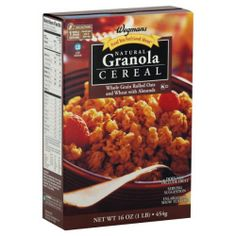 Wgmns Cereal, Natural Granola, 16 Oz. (Pack of 4)