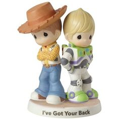 """Disney / Pixar Toy Story \""""I've Got Your Back\"""" Figurine by Precious Moments"""