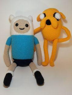 Pack Finn & Jake de Apeluchable! por DaWanda.com