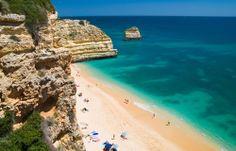 Top 10 beaches in the Algarve, Portugal - via Weather2Travel 07.05.2014   Photo: Praia da Marinha © Christopher Elwell - Dreamstime.com