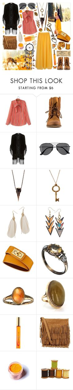 """""""I'm free to do what I want any old time"""" by aquabatgirl ❤ liked on Polyvore featuring ALDO, Alice & You, H&M, Pamela Love, Wet Seal, Miss Wax, Givenchy, Alexis Bittar, Kate Spade and Polo Ralph Lauren"""