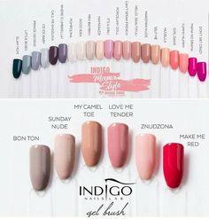 Acrylic Nail Designs, Acrylic Nails, Indigo Nails, Vernis Semi Permanent, Nail Colors, Lipstick, Art, Manicure, Nail Polish