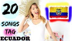 20 SONGS TAG ECUADOR | GeloGabry |TAG 20 CANCIONES ECUADOR - YouTube