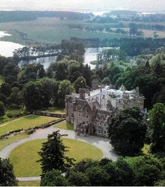 Andrew Carnegie's home, Skibo Castle.  The purchase price was (£85,000) $158,000.