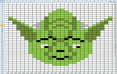 Yoda Star Fighter Droid Darth Maul Light Sabers General Grievous Ravelry: PennyIA Inartsia Star War Charts pattern by Penny Heeren Star Wars Quilt, Star Wars Room, Star Wars Crochet, Crochet Stars, Knit Patterns, Cross Stitch Patterns, Knitting Patterns Free, Knitting Ideas, Xmas Cross Stitch