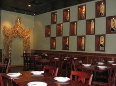 Opart Thai - State & Archer, Chicago:  Must try the Tiger Cry appetizer...great Thai food!