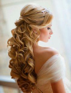 Romantisk brudfrisyr /Romantic wedding hair