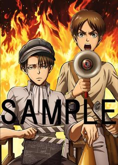 Higher Resolution Image of the Levi and Eren Crimson Bow and Arrow DVD Award PosterSource