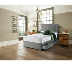 Buy Silentnight Knightly 2000 Luxury Superking 4 Drw Divan Bed at Argos.co.uk - Your Online Shop for Divan beds, Beds, Bedroom furniture, Home and garden. #buyluxurybedroomfurniture