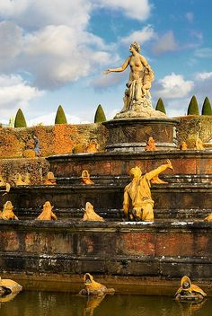 Versailles-The fountains are fabulous and animated.