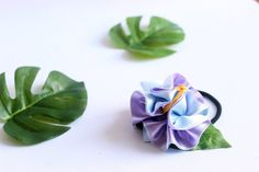 A Set of hibiscus Decorated Hair Elastic Ponytail Holders, Women Hair Accessory,tropical accessoties Party Hawaii, Hawaiian Party Favors, Luau Party, Ukulele Accessories, Ribbon Lei, Ponytail Holders, Hair Accessories For Women, Hair Ties, Hair Bow