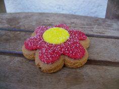 Sugar flower #cookies #flower #sugar #cute #sweet
