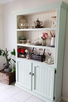 The Whimsical Wife: The Kitchen Hutch Reveal