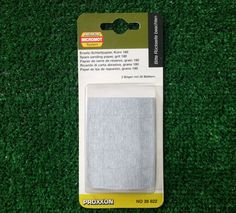 Proxxon 28822 carta abrasiva di ricambio per PS 13 in carburo di silicio adesivo