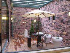 シティーホテルの外構&植栽 My Works, My Design, Construction, Patio, Gallery, Outdoor Decor, Home Decor, Building, Terrace