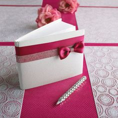 Need something simple like this. I think guest books are a waste of $ though.