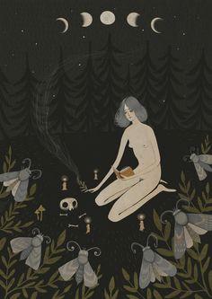 Moon - Alexandra Dvornikova