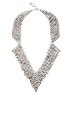 Chainmail Collar Necklace | BCBG