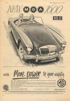 I have a 1962 MGA Mark1600