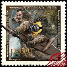 Minions El Hobbit: Girion, el Bardo interpretado en la película por la actor Luke Evans.