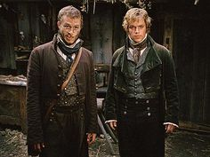Jake and Will Grimm from The Brothers Grimm - Heath Ledger (RIP) and Matt Damon