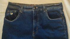 Womens Gloria Vanderbilt Jeans Size 12 M Blue Jeans #GloriaVanderbilt #StraightLeg