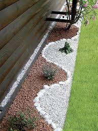 Decoracion de jardines con piedras en formas Pinterest