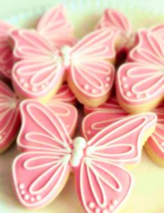 Butterfly Decorated Sugar Cookies by Sugar Love & Happiness on Gourmly