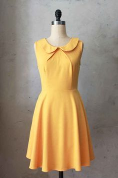 Provence Mustard Dress   29 Bright Yellow Dresses To Help You Channel Kate Middleton