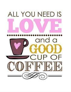 and love. and coffee. and love. and coffee.and love.and coffee. Coffee Talk, I Love Coffee, Best Coffee, Coffee Break, My Coffee, Coffee Drinks, Morning Coffee, Coffee Shop, Coffee Cups