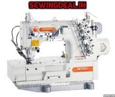 High-Speed Flatbed Interlock Sewing Machine with Auto Thread Trimmer Series