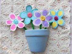 Bouquet of Fingerprint Flowers by @amandaformaro - CraftsbyAmanda.com