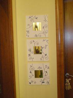 Espejo Malma decorado