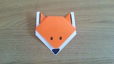 How To Make A Simple Origami Fox
