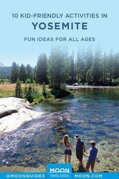 Whether you're headed to Yosemite National Park with kids for the first time or you've been a dozen times already, you may be looking for things to do. This list of 10 activities in Yosemite is kid-approved and offers fun for the whole family. Yosemite Lodging, Yosemite Falls, Yosemite Vacation, National Parks Usa, Yosemite National Park, Merced River, Beautiful Park, Get Outdoors, California Travel