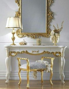 luxury furniture The High End Italian Dressing Table And Mirror Set is a beautiful statement pairing which adds style to any setting, available at Juliettes Interiors. View our large collection of beautiful classic luxury designer Italian furniture! Italian Furniture, Classic Furniture, Luxury Furniture, Home Furniture, Furniture Design, Rustic Furniture, Modern Furniture, Antique Furniture, Outdoor Furniture
