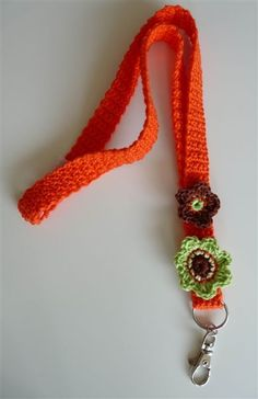 Crochet Lanyard: for purchase Crochet Lanyard, Crochet Keychain, Crochet Stitches, Knit Crochet, Crochet Patterns, Crochet Hats, Crochet Key Cover, Christmas Craft Show, Pinafore Pattern
