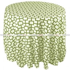 Mjs Print - Micro Table Linen - Avocado